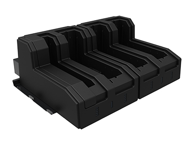 RuggON 4-Bay Battery Charger for Rugged Tablet