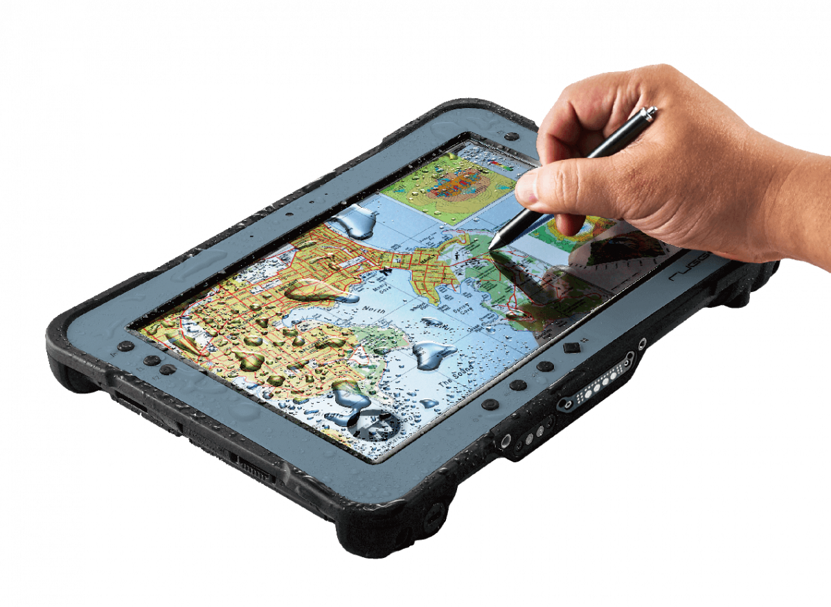 RuggON PX501, rugged tablet, Intel Core i5 support digitizer, golve touch