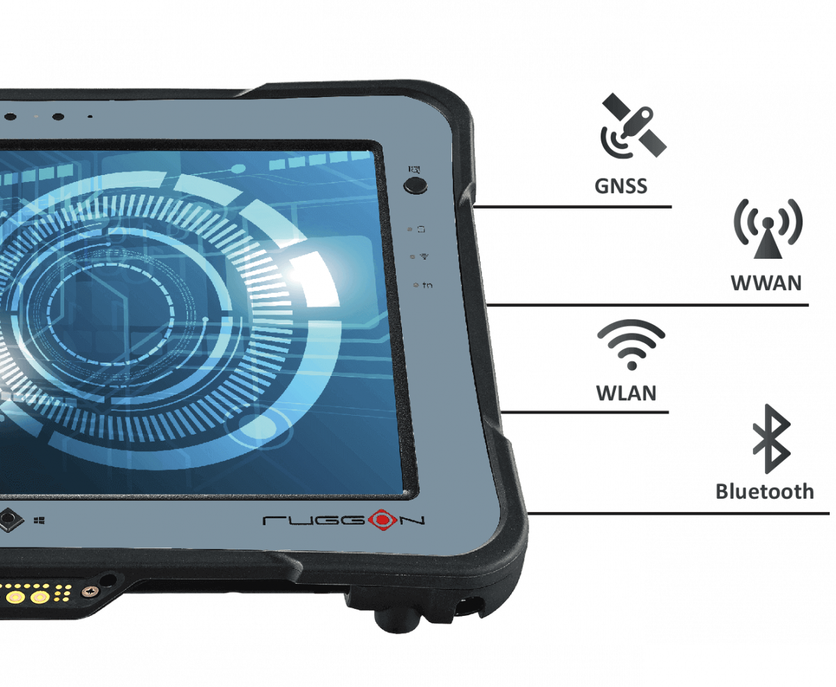 RuggON PX501, rugged tablet support GPS, WiFi, bluetooth, 4G LTE