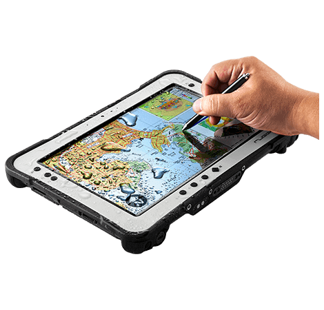 RuggON PX-501 rugged tablet supports digitizer, glove touch