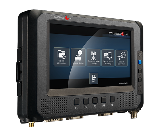 RuggON MT7000, Mobile Data Terminal, purpose-built device for in-vehicle application