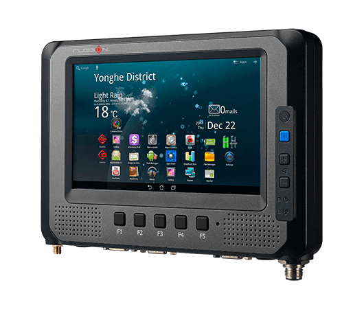 RuggON MT7010, Android Mobile Data Terminal,  along with the wide range of vehicle communications.